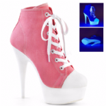 Scarpe Pleaser Delight-600SK-02/PNCA/NW